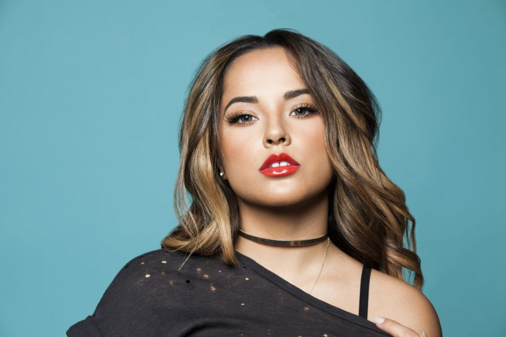 Singer-songwriter Becky G started as a YouTube sensation when she was 14 years old.