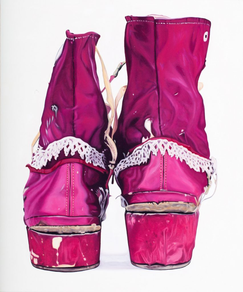Frida Kahlo shoes, by Kelly Jo Shows