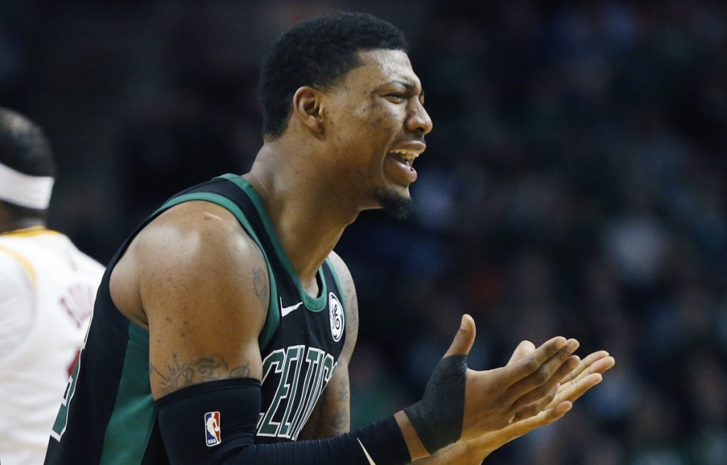Marcus Smart could be out a couple games, or out for the season. The severity of his thumb injury is not known, and his absence may prompt Boston to get help from the Red Claws.