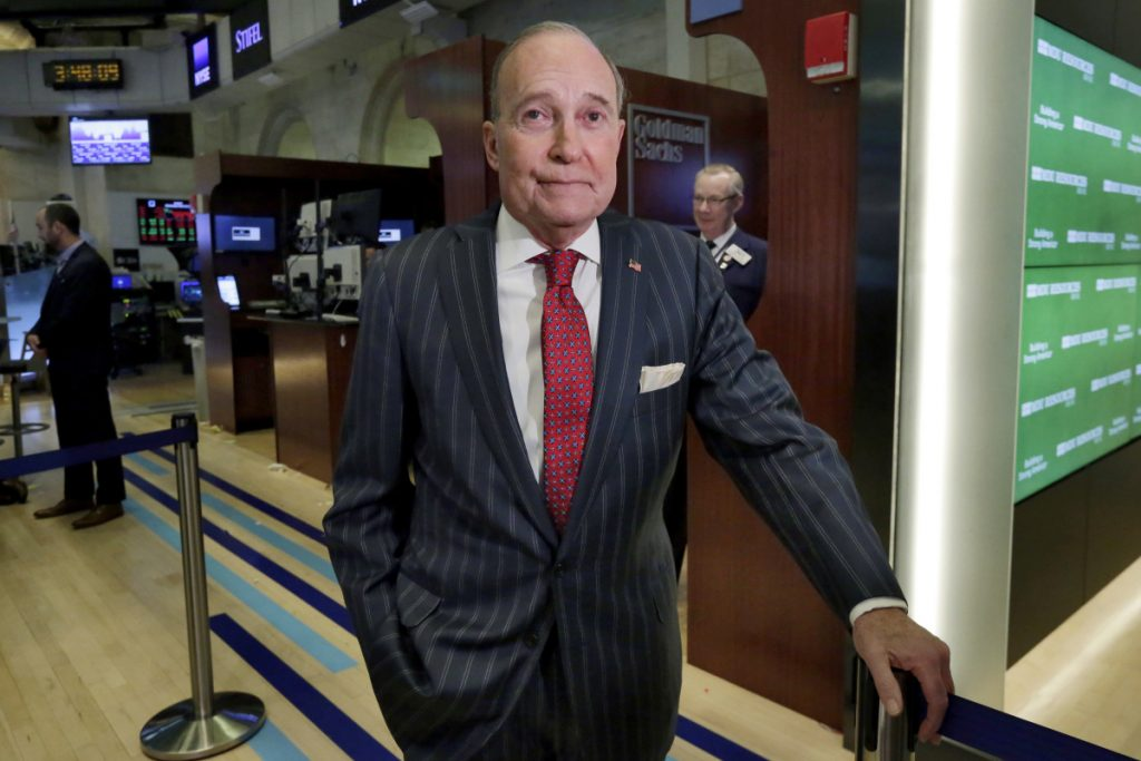 "A good friend described Larry Kudlow, above, as someone who would be inclined to offer ""unvarnished"" advice to the president on the appropriate path for economic policy."