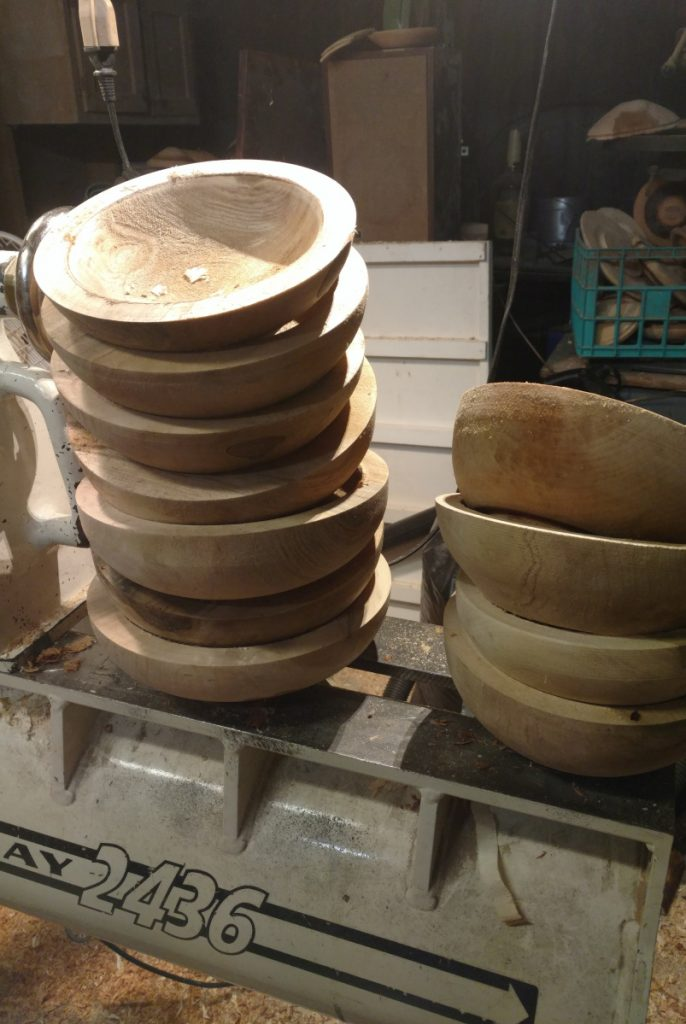The winners of the 2018 Source Awards receive these hand-turned, locally sourced bowls. This year, the wood came from a beloved red maple tree that grew outside the home of Source Editor Peggy Grodinsky. She ultimately had to cut down the tree.