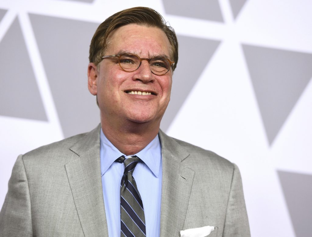 The play, with a script written by Aaron Sorkin, above, is scheduled to open in New York in December.