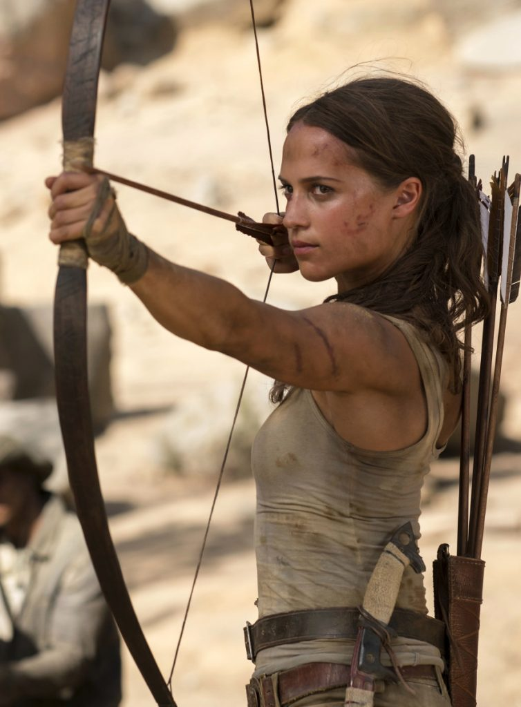 This image released by Warner Bros. Pictures shows Alicia Vikander in a scene from