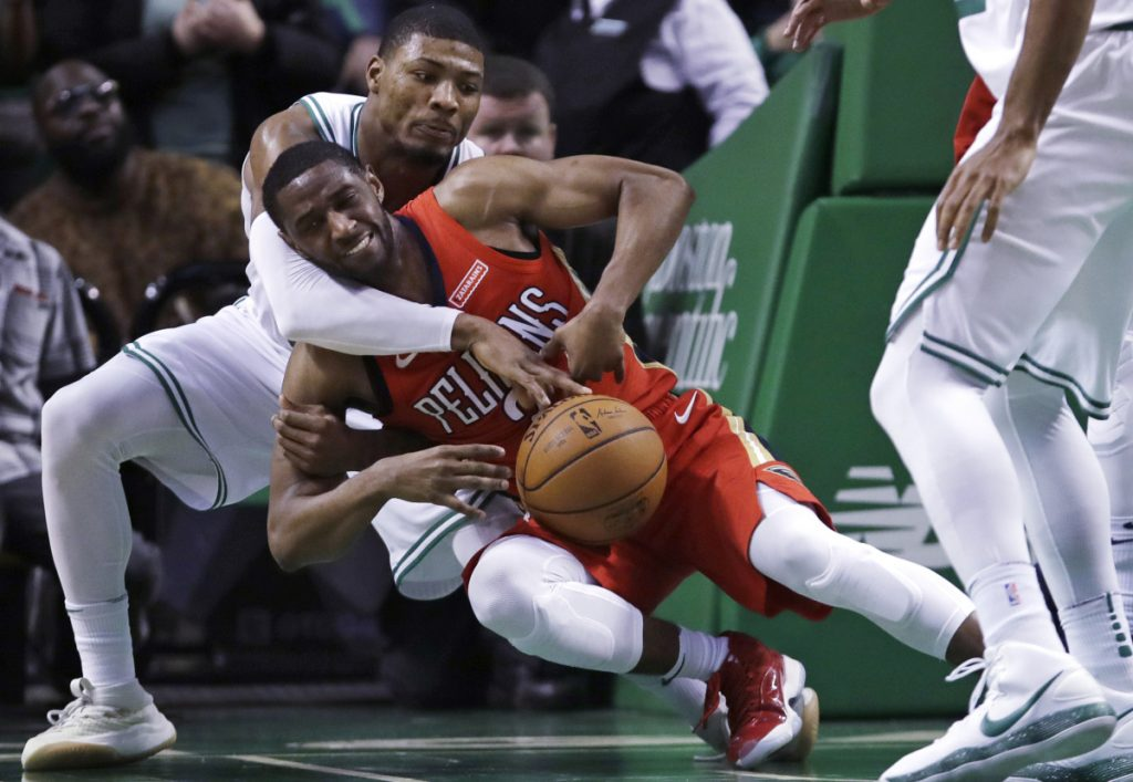 Marcus Smart's defensive prowess has been a major reason why the Celtics are ranked No. 3 in the NBA in team defense, but he'll miss the remainder of the regular season after undergoing thumb surgery Friday.