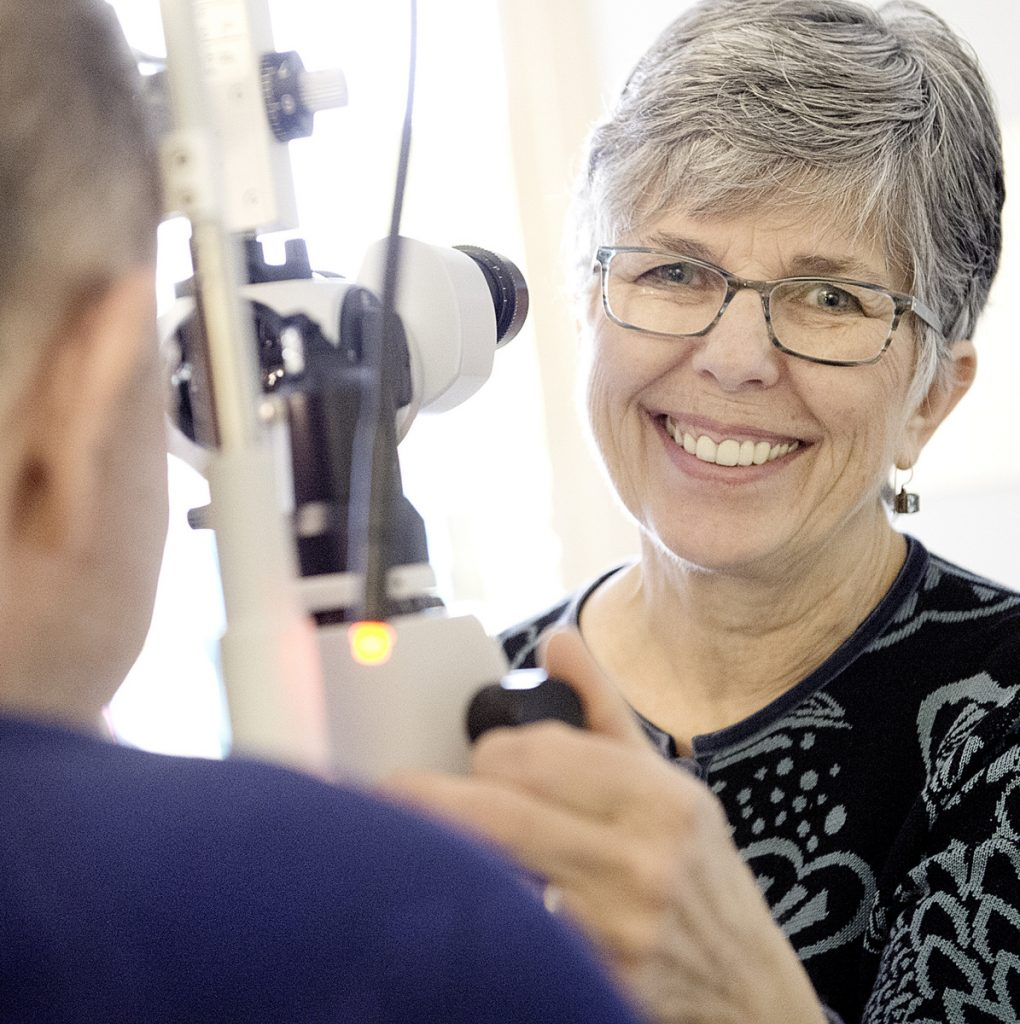 Optometrist Pauline Beale's special relationships with patients are making it hard for her to say goodbye and retire from practice at 71.