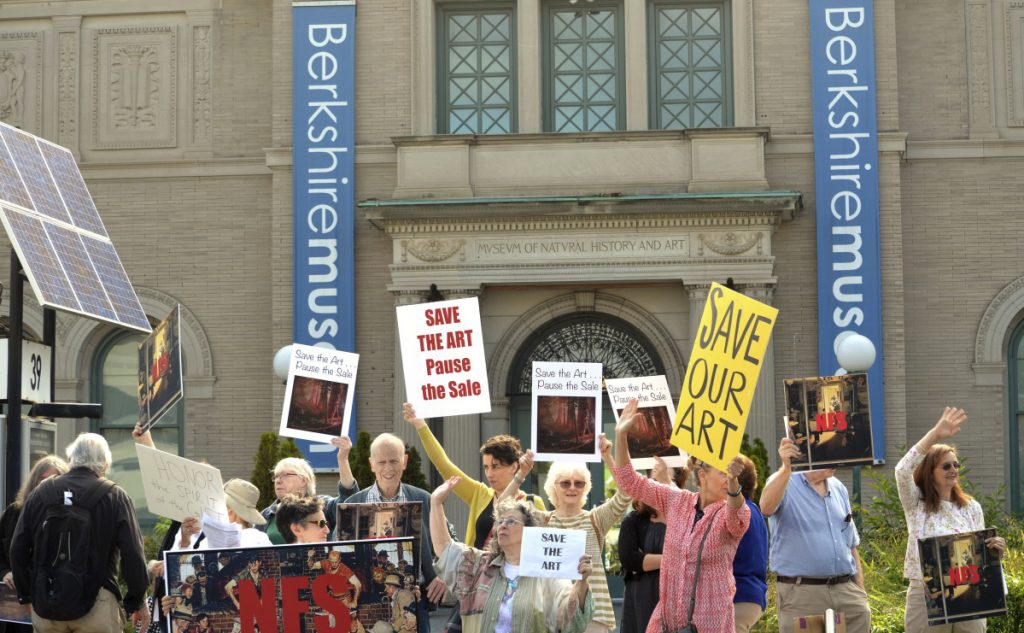 The Berkshire Museum in Pittsfield, Mass. An attorney for the museum says that an April deadline is nearing to sell some art works and that the museum is in dire financial straits.