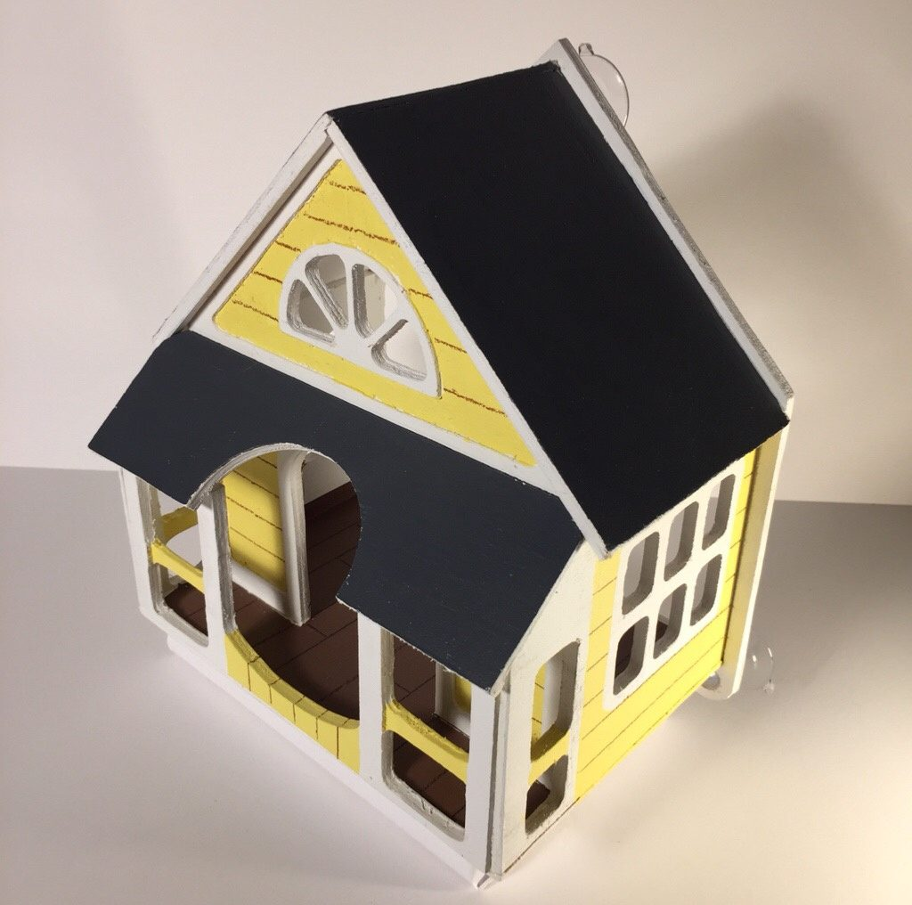 """The """"Home Tweet Home"""" line began three years ago after illustrator Jada Fitch's cardboard prototype went viral online."""