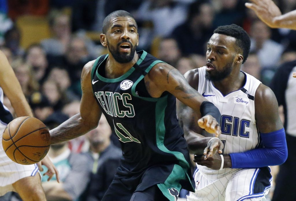 Kyrie Irving has missed seven straight games for the Boston Celtics with a knee injury. He will have a procedure on Saturday, which the team calls 'minimally invasive.'