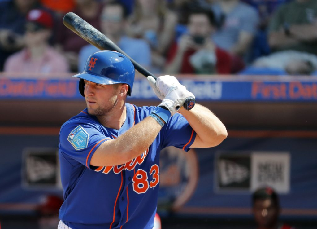 Tim Tebow may be headed to Hadlock Field. The former Heisman Trophy winner is expected to play with the Binghamton Rumble Ponies when the Eastern League season begins and the Rumble Ponies come to Portland for the Sea Dogs home opener.