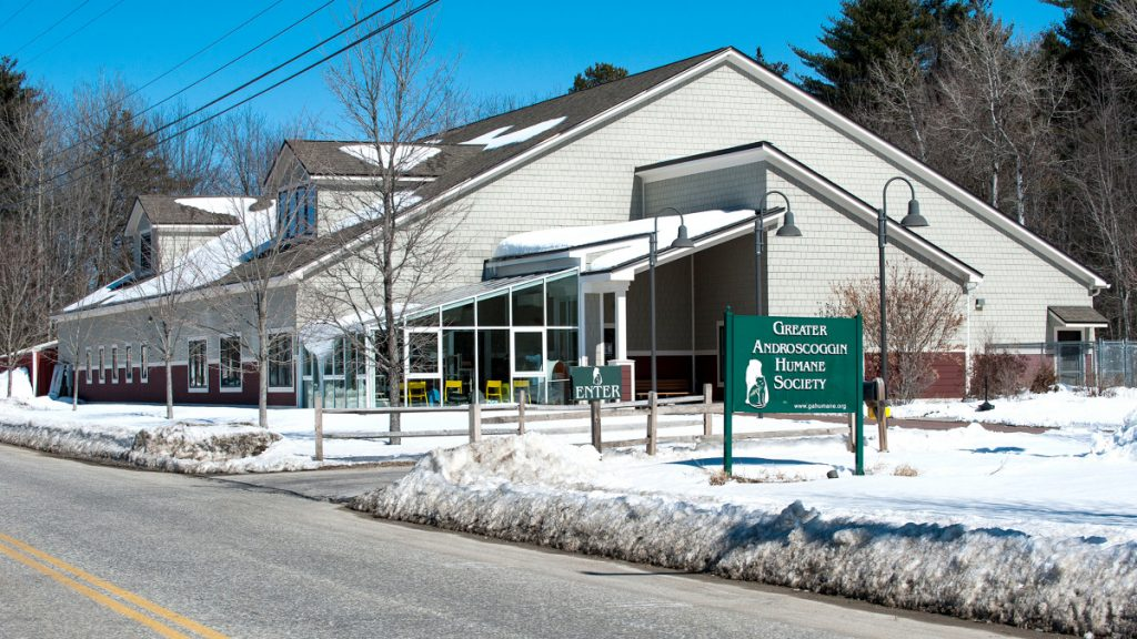 Once the snow melts, the Greater Androscoggin Humane in Lewiston wants to create four fenced-in visiting areas near the building to supplement its indoor visiting room.