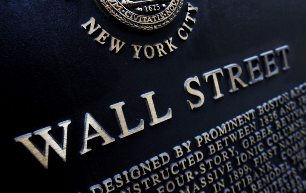 The technology sector of the U.S. stock market opens was bleeding red on Tuesday.