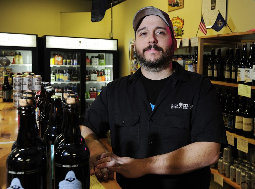 Greg Norton says his new Bier Cellar at 593 Main St. will open in the next few months and will offer a mix of local craft beer and European favorites.