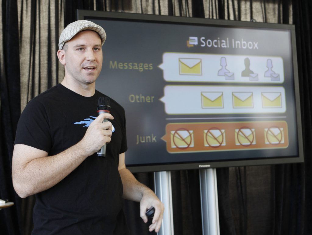 Facebook engineer Andrew Bosworth in 2010.