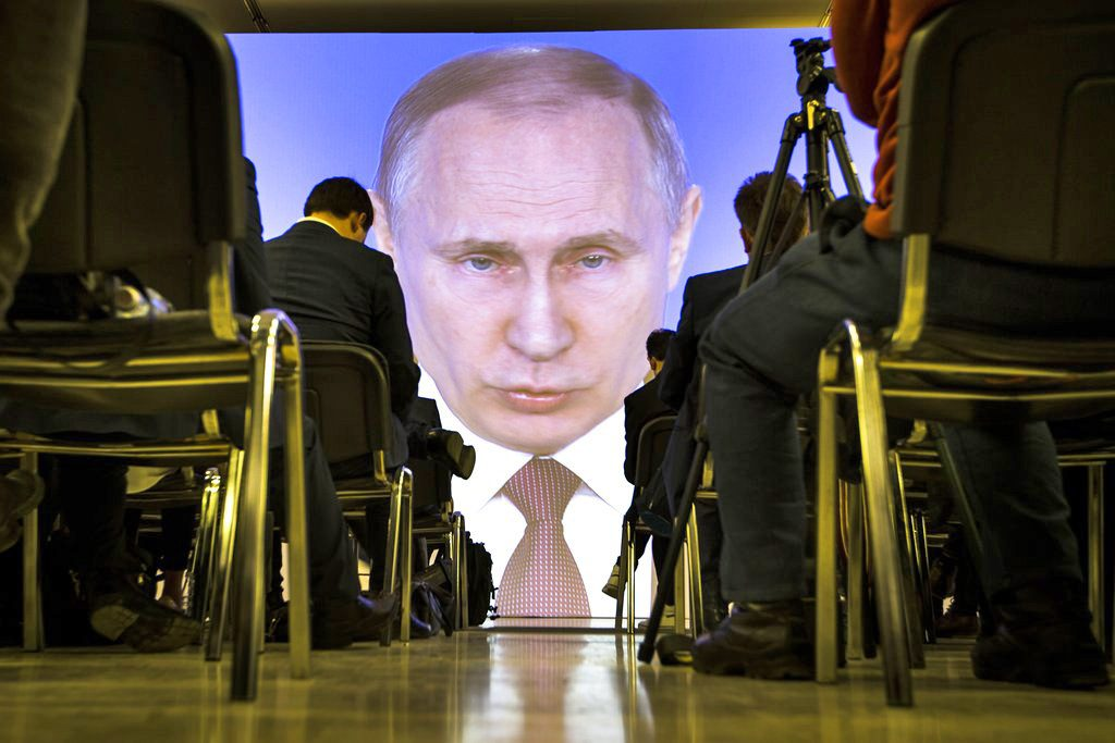 Putin Says Would Reverse Collapse Of Soviet Union If He Could