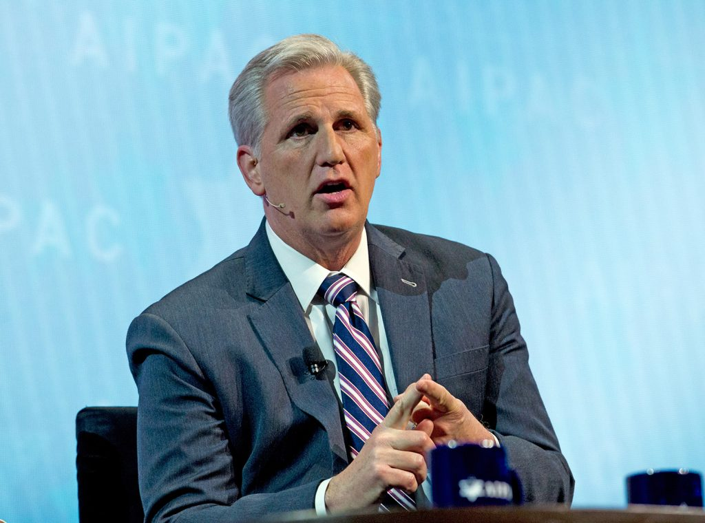 House Majority Leader Kevin McCarthy, R-Calif., said Tuesday the House will take up a bill creating a federal grant program to train students, teachers and school officials how to identify and intervene early when signs of violence arise.