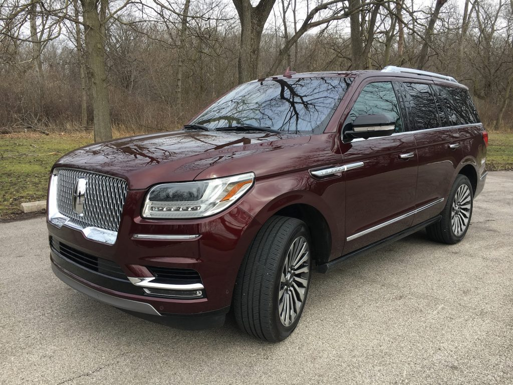 Redesigned 2018 Lincoln Navigator AWD in Reserve trim.