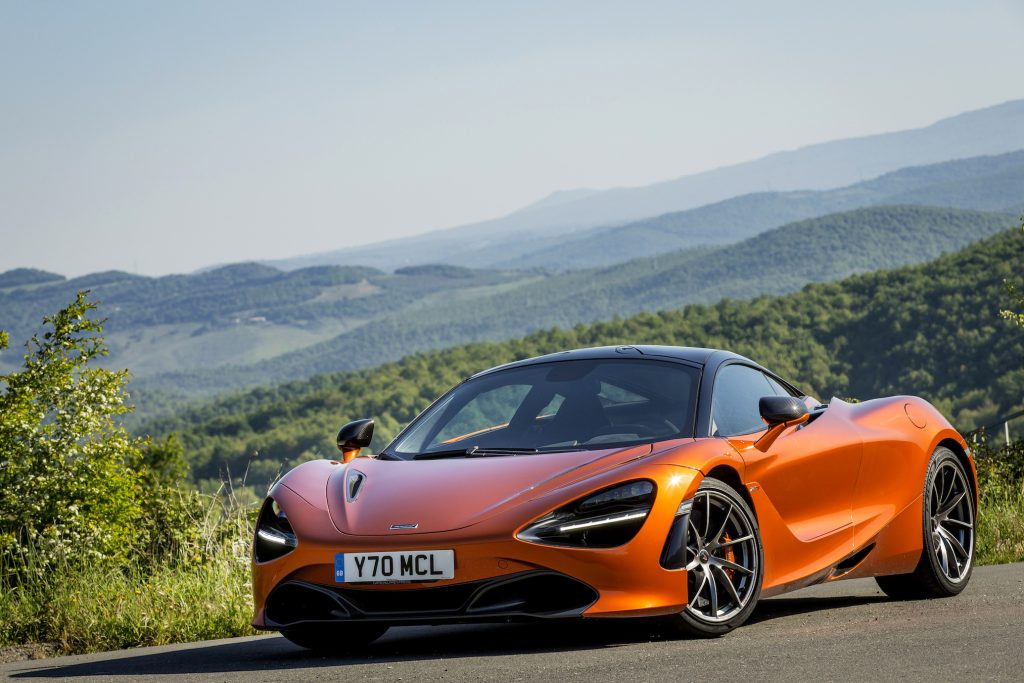 The McLaren 720S runs like a rocket.