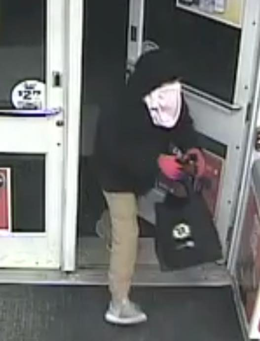 Eliot police are asking for the public's help in identifying the man who stole liquor from the Circle K gas station and convenience store on March 20.