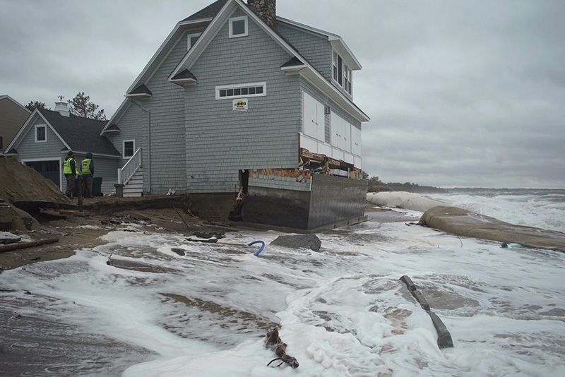 Maine Photos Of Early March Nor Easter Press Herald