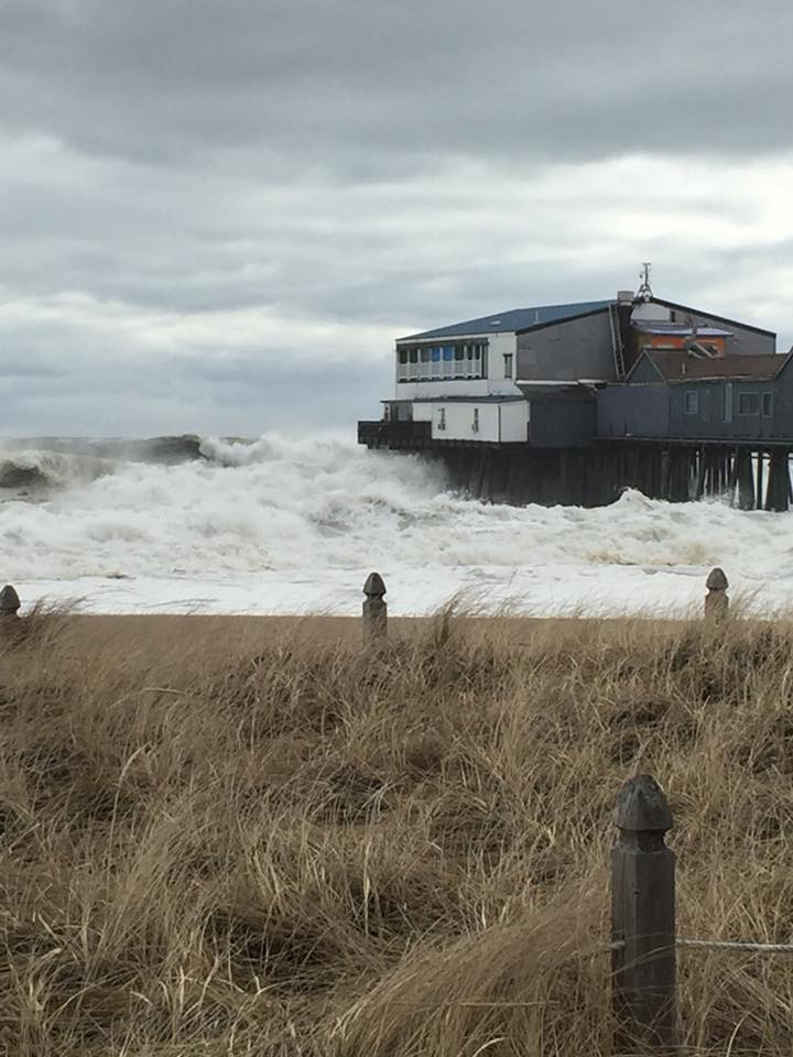 Floodwaters Surge Waterfront Homes Battered As Powerful Storm Slams
