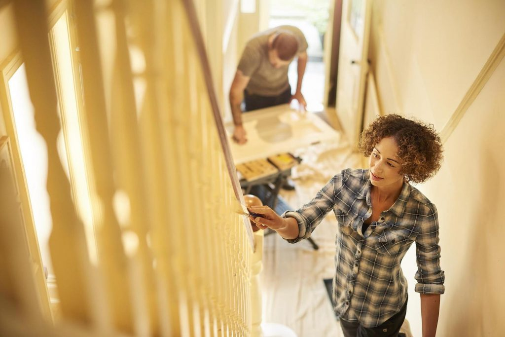 DIY projects with a spouse or family member can be fun if you take the right approach.