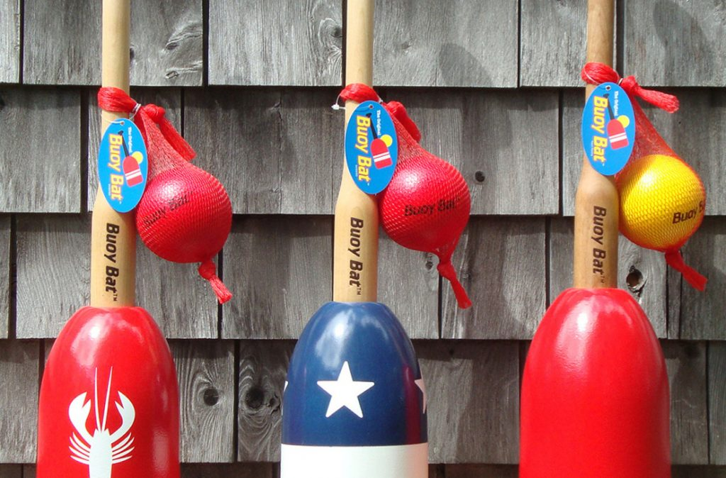 Buoy bats are suitable for all ages, but they're especially appropriate for little kids who can't quite yet swing for the fences.