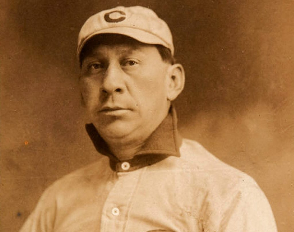 Louis Sockalexis, a native of the Penobscot Nation reservation on Indian Island, played pro baseball 50 years before Jackie Robinson.