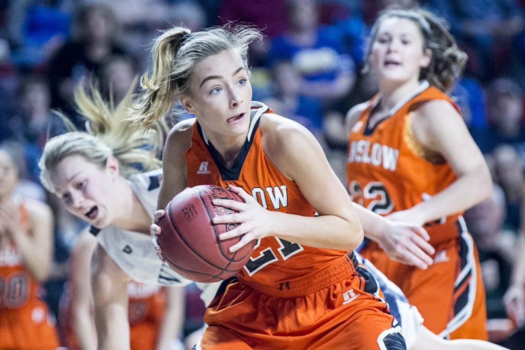 Winslow's Haley Ward is the Morning Sentinel Girls Basketball Player of the Year.