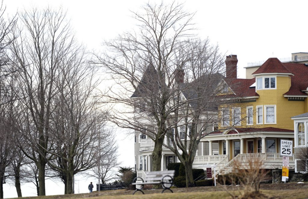 These homes along the Eastern Prom may be suitable for a historic district, but a local real estate attorney notes there are many working-class houses on Munjoy Hill that don't have the same historic attributes.