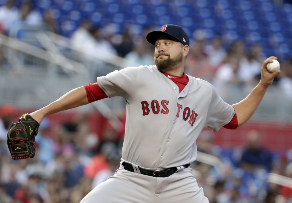 Brian Johnson allowed one run in six innings and the Boston Red Sox won their fourth straight game, beating the Miami Marlins 7-3 on Monday in Miami.