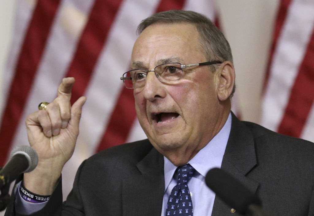 """If (Attorney General Janet Mills) thinks a one-time settlement is enough to fund Medicaid expansion,"" Gov. Paul LePage said Tuesday, ""she won't make a very good governor."""