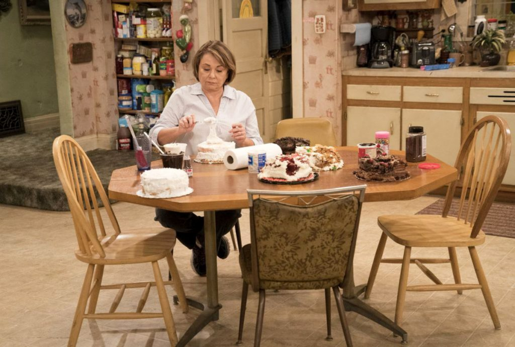 """Roseanne Barr on the """"Roseanne"""" reboot. The show with its Middle America heroine has been wildly successful so far."""