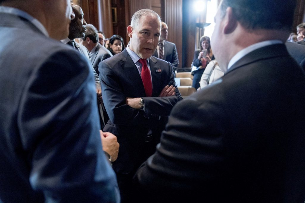 The EPA reportedly has spent $3 million on security precautions for its embattled administrator, Scott Pruitt.