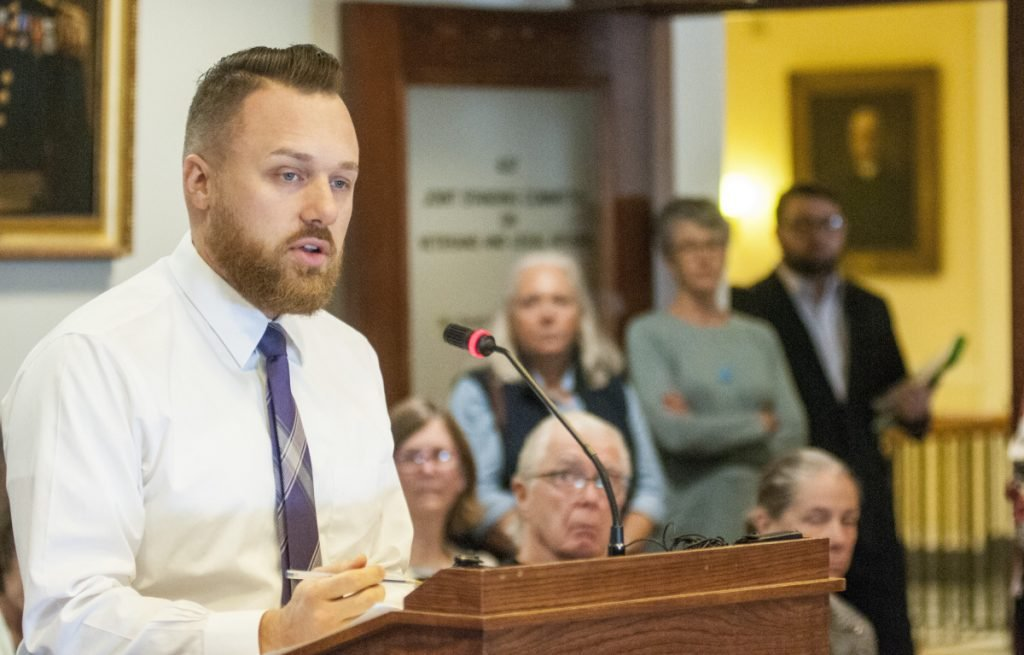 State Sen. Garrett Mason wouldn't rule out the possibility of a legal complaint if he were to lose a ranked-choice vote in June. He's one of several Republican candidates who are vocal critics of the voting system approved by voters in November 2016.