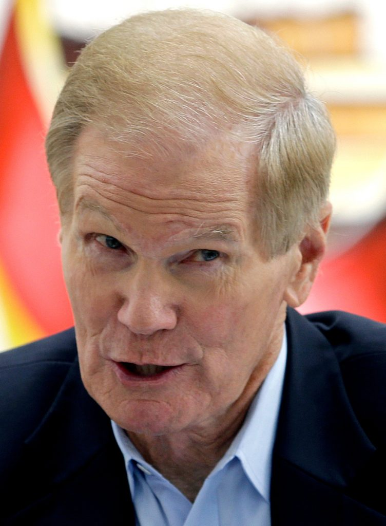Florida Gov. Rick Scott is challenging Democratic Sen. Bill Nelson, seen last year, in an election that could be one of the most expensive and highly watched races in the nation.