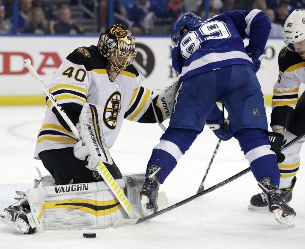 Goalie Tuukka Rask and his Boston Bruins teammates may be the team to beat, but they lost three of the four regular-season games with Toronto, their first-round opponent.