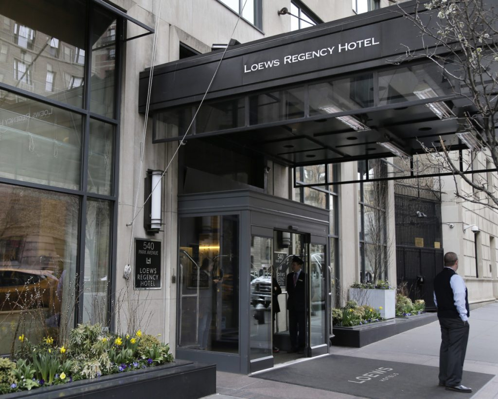 Federal agents raided the Loews Regency Hotel in New York on Monday to execute a search warrant on  Michael Cohen — President Trump's attorney — seizing records on topics including a $130,000 payment made to porn actress Stormy Daniels. Besides Cohen's office, agents also searched a hotel room at Loews where he's been staying while his home is under renovation.