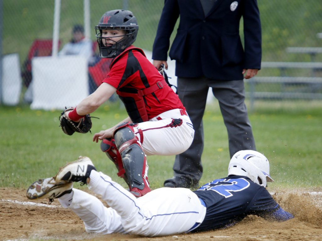 Michael Wrigley, a highly regarded defensive catcher who also hit .394 last season, is one of the reasons why Wells is seen a top contender in Class B South after going 11-6-1 last spring.