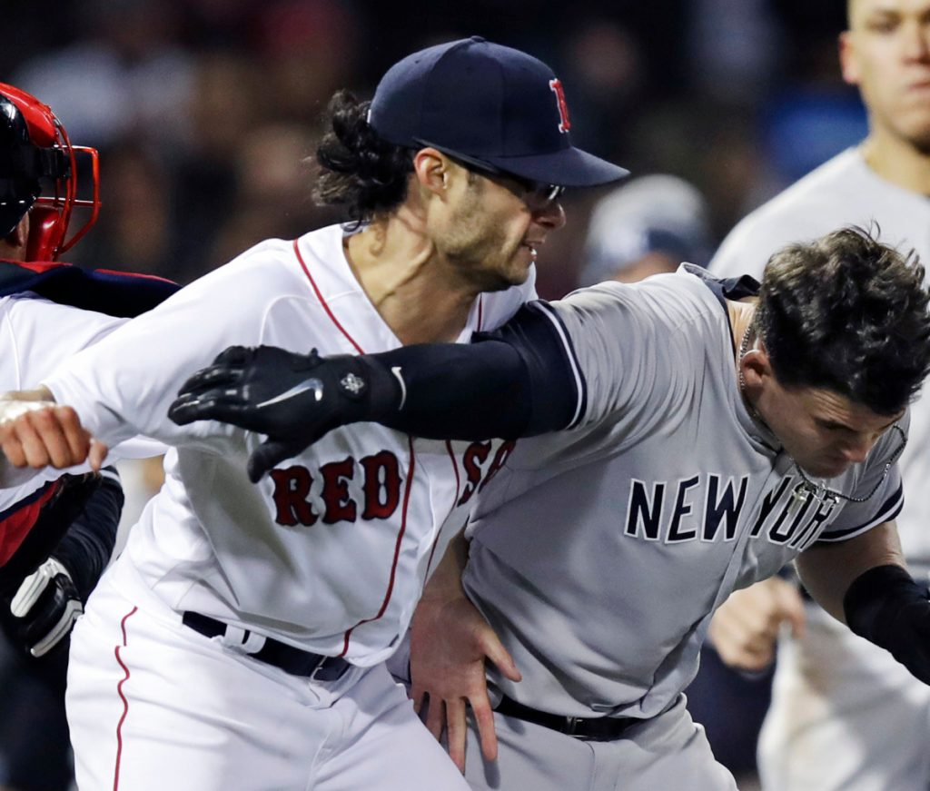 The Red Sox and Yankees slug it out in wild game Video