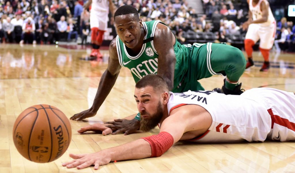 Terry Rozier and the Boston Celtics earned the No. 2 seed in the Eastern Conference despite injuries to two of their best players, Gordon Hayward and Kyrie Irving. Jonas Valanciunas and the Raptors earned the No. 1 seed.