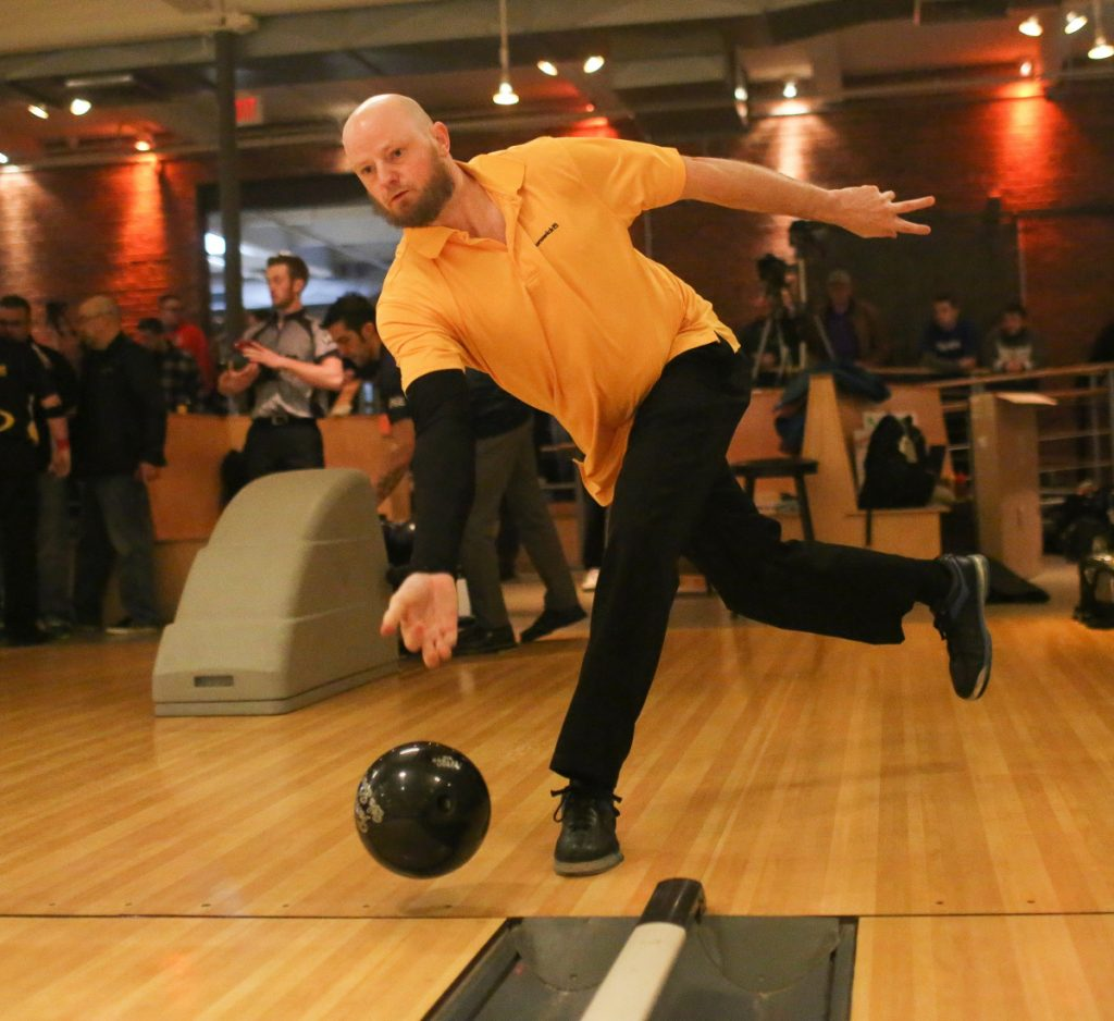 Jimmy Clark of Topsham will be one of the five local bowlers set to compete against touring pros in the singles tournament Tuesday and Wednesday at Bayside Bowl.