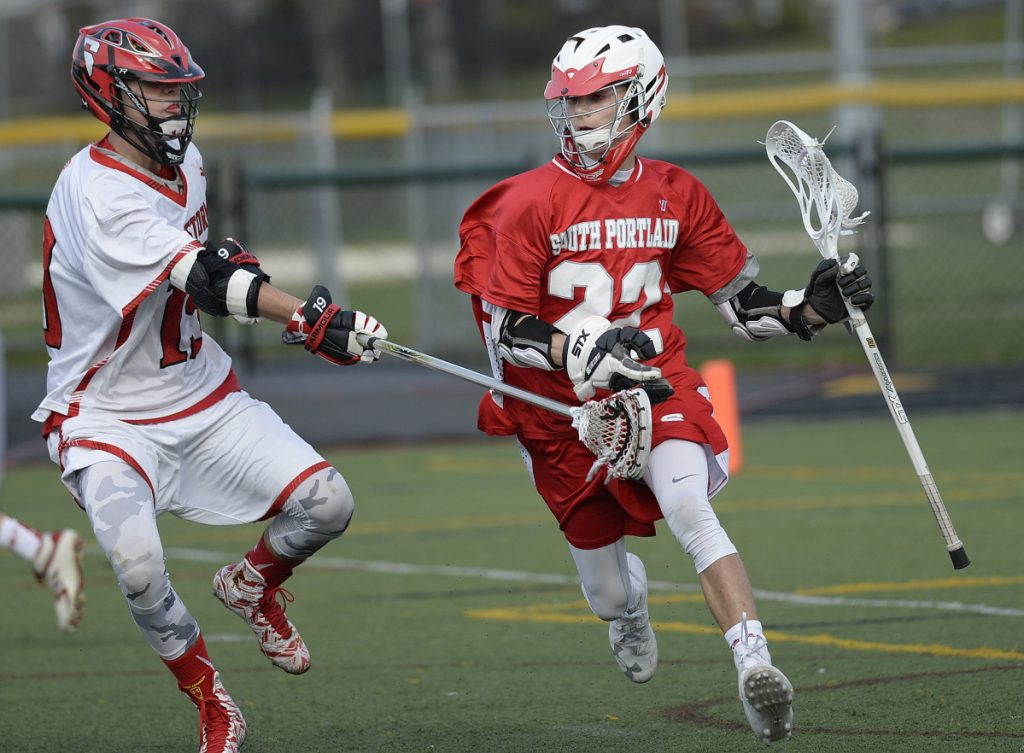 South Portland's Cooper Mehlhorn had 40 goals and 40 assists last season, and teams with David Fiorini to form a potent one-two scoring threat.
