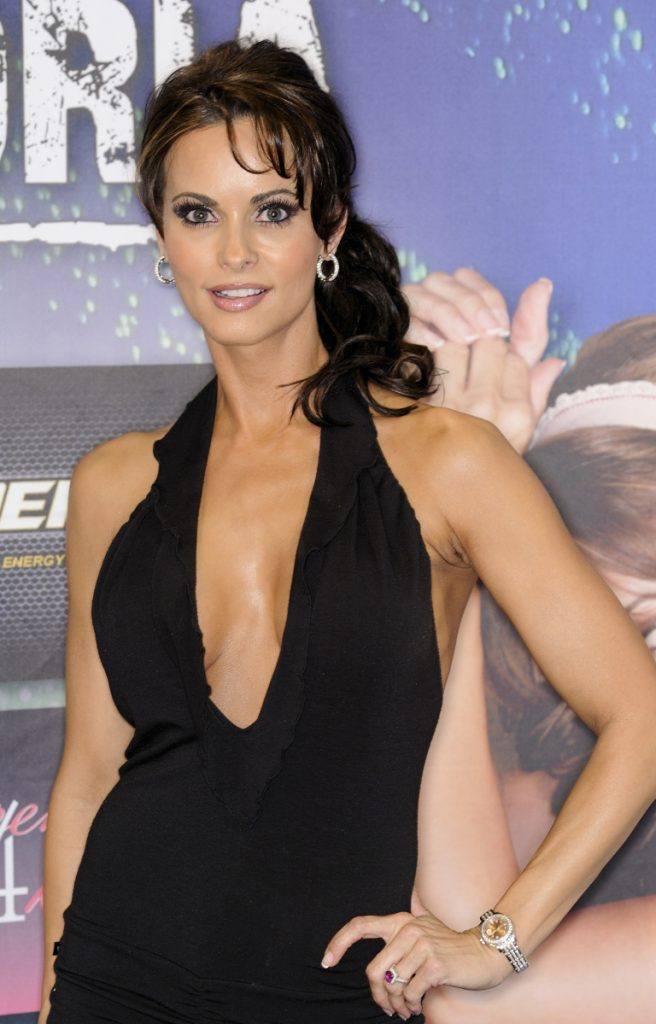 """I am relieved to be able to tess the truth ...,"" says Karen McDougal, shown in 2011."