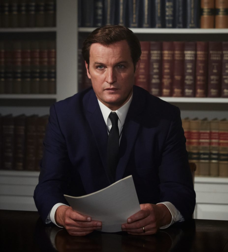 Jason Clarke as Ted Kennedy.