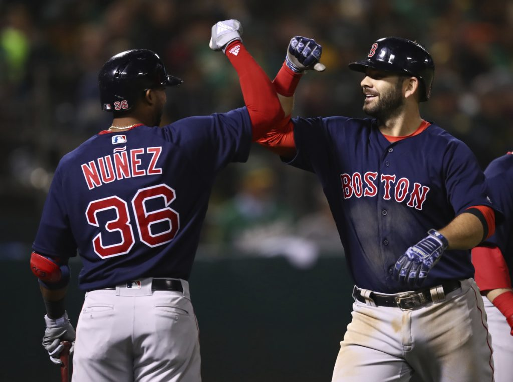 They can't be stopped: Red Sox win again, improve to 17-2 ...