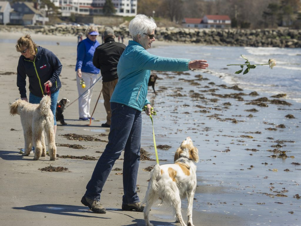 ME community remembers Barbara Bush on Gooch's Beach