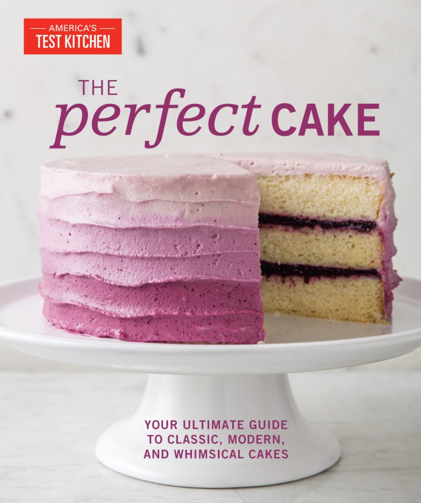 'The Perfect Cake' is filled with lush photos to accompany the recipes as well as practical tutorials on basic cake-baking techniques.