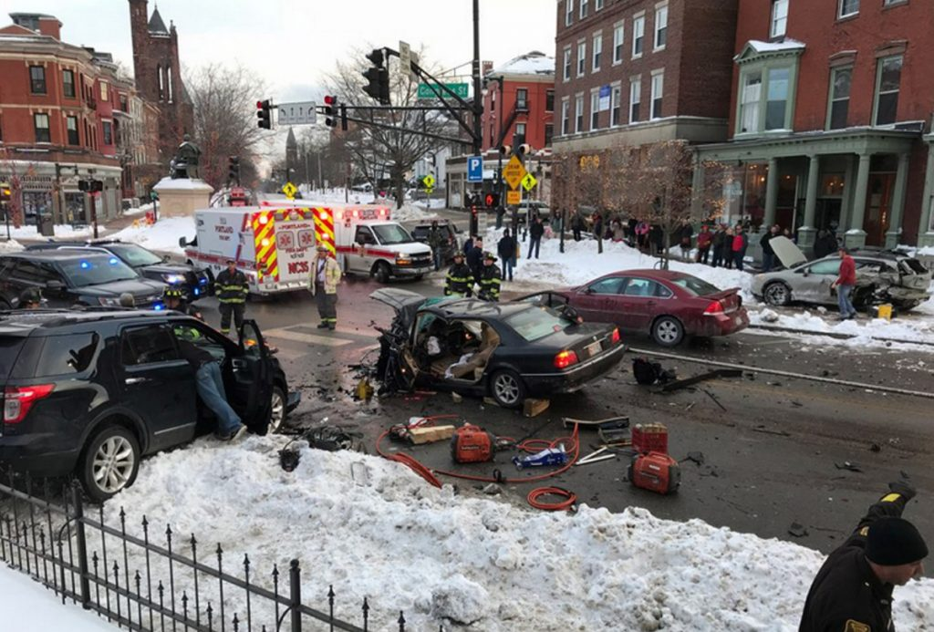 Man Involved In Dramatic Congress Street Crash Indicted On