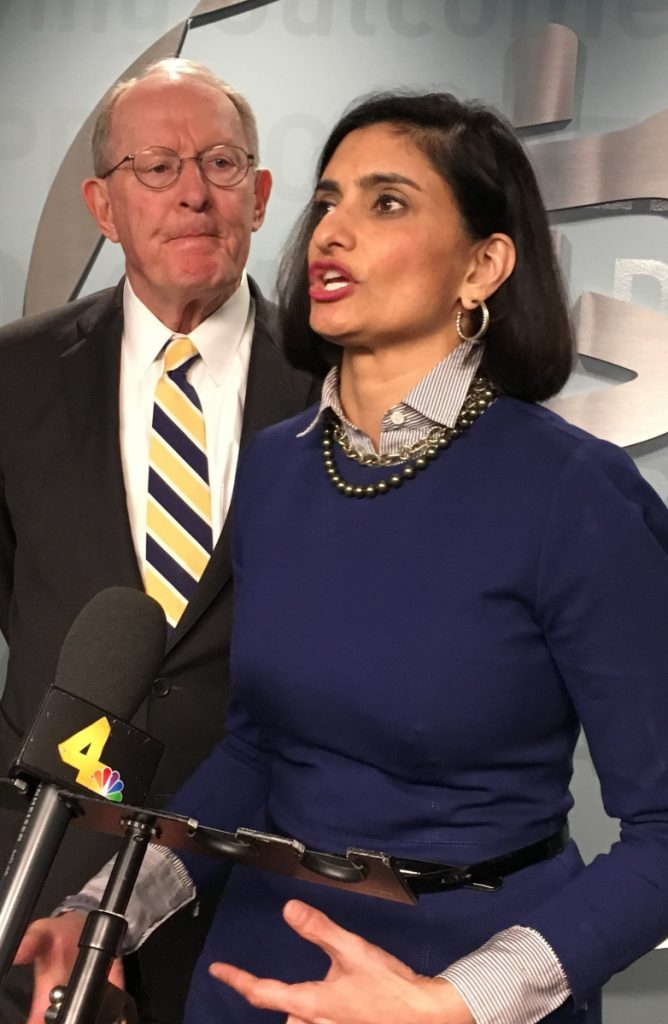 Centers for Medicare and Medicaid Services Administrator Seema Verma said 'patients first' is the goal.