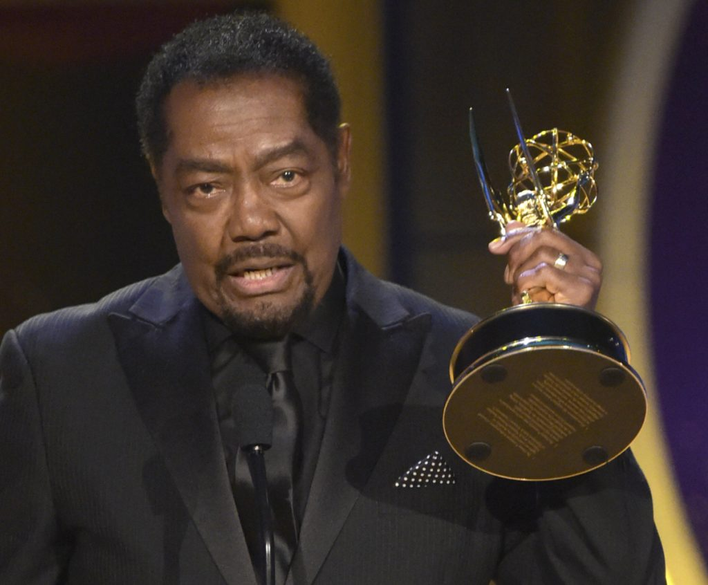 "James Reynolds accepts the award for outstanding lead actor in a drama series for ""Days of Our Lives"" at the 45th annual Daytime Emmy Awards."